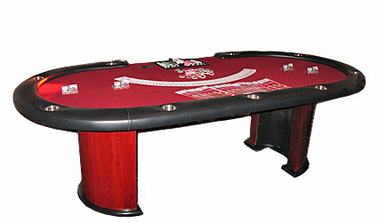 Poker table and dealer rentals